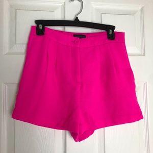 Mittoshop Pink High Waisted Shorts